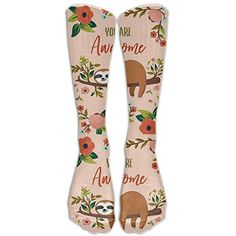 You Are Awesome Sloth Knee High Graduated Compression Socks For Women And Men - Best Medical, Nursing, Travel  #MedicalSuppliesEquipment