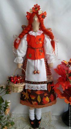Купить Осенняя феечка Сентябрина - рыжий, осень 2016, Осенние цвета, осенние краски, Сентябрь