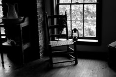 Ghostly Room black and white multiple sizes by WinchesterRed, $18.00