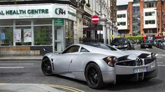 Pagani Huayra... never have seen one before, but it looks pretty sweet!