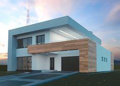 J'aime beaucoup l'architecture de cette maison.
