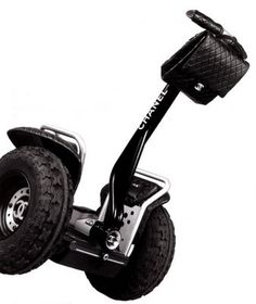 THERE IS NO CREATIVITY IN FASHION...!     CHANEL announced the creation of the above urban personal transporter...