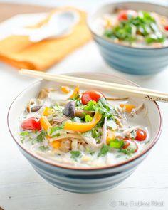 Thai Coconut Turkey Soup