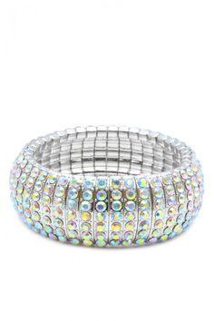 Bling Bling Rhinestone Studded Fashion Bracelets