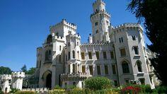 Hluboka nad Vltavou, castle