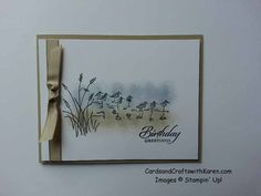 March 23, 2014 Cards and Crafts with Karen: Wetlands 20140322_163843
