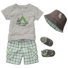 Little Camper 5-piece Gift Bundle | Baby Boy Little Camper Carter's