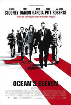 Oceans Eleven Official Poster Artist Credit James Verdesoto And Vivek Mathur
