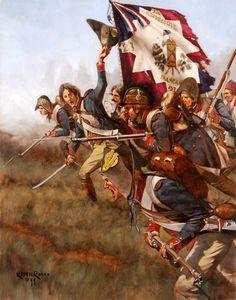 32nd Demi-Brigade at Lonato by Keith Rocco