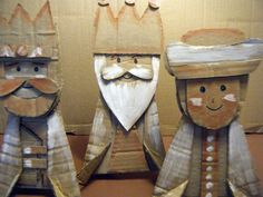 The three kings   #Cardboard