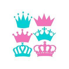 Corona Svg Svg coronas corona monograma Svg por LTCreativeDesigns
