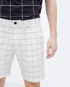 Image 5 of CHECKED BERMUDAS from Zara