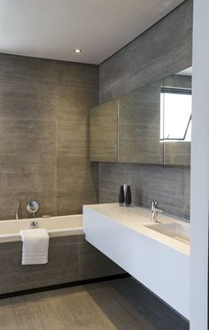 Concrete House | Bathroom | M Square Lifestyle Design #Design #Interior #Contemporary #Architecture