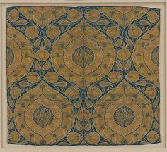 Fragment Date: mid-16th century Geography: Turkey, probably Istanbul Culture: Islamic Medium: Silk, metal wrapped thread; lampas (kemha) Dimensions: Textile: H. 24 in (61 cm) W. 26 1/2 in (67.3 cm) Mount: H. 28 5/8 in (72.7 cm) W. 31 6/8 in (80.6 cm) D. 7/8 in (2.2 cm) Classification: Textiles-Woven Credit Line: Purchase, Joseph Pulitzer Bequest, 1952 Accession Number: 52.20.22