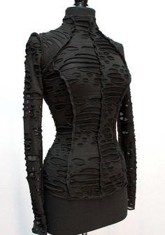 Women's Tops – Page 4 – Shrine of Hollywood Fashion Now, Future Fashion, Dark Fashion, Fashion Brands, Winter Fashion, Gothic Fashion, High Fashion, Punk Outfits, Fashion Outfits