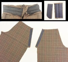 Here are a few steps on how to sew together a pair of shorts or trousers with a front fly zipper and pockets. In this pattern I am assembling a pair of boys shorts. Keep in mind th… Pattern Drafting Tutorials, Sewing Tutorials, Sewing Projects, Sewing Tips, Sewing Pants, Sewing Clothes, Doll Clothes, Techniques Couture, Sewing Techniques