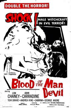 BLOOD OF THE MAN DEVIL aka HOUSE OF THE BLACK DEATH 1964