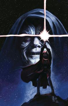 Cover art by Giuseppe Camuncoli & Elia Bonetti for 'Star Wars: Darth Vader' issue published August 2018 by Marvel Comics Star Wars Film, Star Wars Fan Art, Star Trek, Star Wars Poster, Darth Vader Star Wars, Darth Vader Comic, Anakin Vader, Darth Vader Artwork, Anakin Skywalker