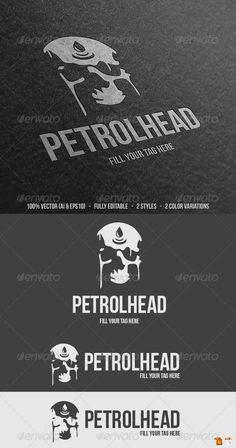 Petrolhead	 Logo Design Template Vector #logotype Download it here: http://graphicriver.net/item/petrolhead-logo/5867903?s_rank=469?ref=nexion