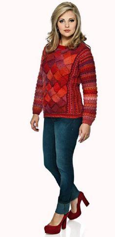 Blusa Vermelha - Fio Nuance