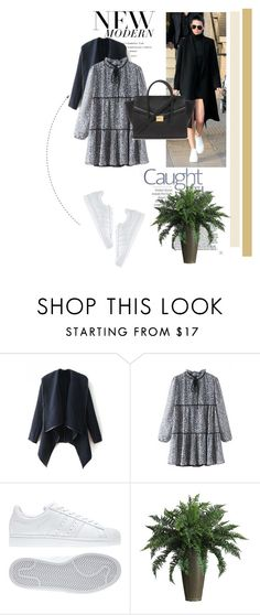 """""""Untitled #154"""" by dianagrigoryan ❤ liked on Polyvore featuring moda, adidas, Nearly Natural, Forever 21, women's clothing, women's fashion, women, female, woman e misses"""
