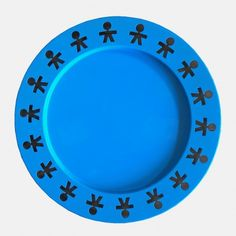 Light blue satin Alessi Tray from the Girotondo series. late Century, made in Italy and sold by Claudia Collections in Belgium. Alessi, King Kong, Blue Satin, 1980s, Tray, Collections, Things To Sell, Design, Anos 80