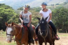 Good time riding in the mountains of Monteverde! Great horses and fun guide. Amazing scenery #costarica | monteverdetours.com
