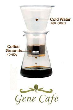 Dutch Cold Drip Coffee Maker