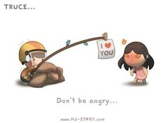 Don't be angry...