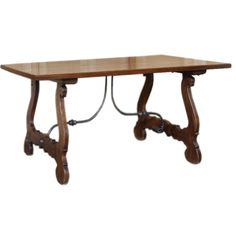Antique Spanish Oak Table