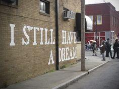 John Fekner for Living Walls in Atlanta. Photo via Vandalog.