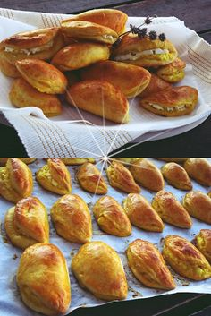Greek Recipes, Pretzel Bites, Baked Potato, Food And Drink, Bread, Cheese, Snacks, Cooking, Breakfast