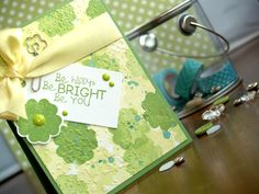 Be Happy Be Bright Be YOU! Happy March! {Fun Stampers Journey}