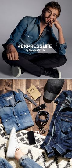 Your jeans shouldn't just fit your body, they should fit your lifestyle. As an actor and humanitarian, Douglas Booth needs denim that works as hard as he does. Tech fabrics that keep your cool, extra stretch for a full range of motion and the right style make for the perfect pair of jeans. Before you do anything in life, you have to get dressed-- so make sure your clothes help you feel confident enough to go after your goals.
