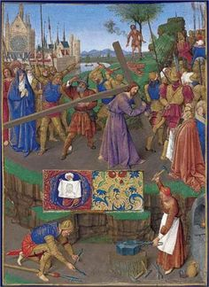 Carrying the Cross - Jean Fouquet