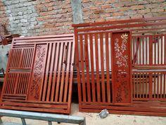 Gate Wall Design, Front Gate Design, House Gate Design, Front Gates, Entrance Gates, Iron Fence Gate, Grill Design, Ganesh, Laser Cutting