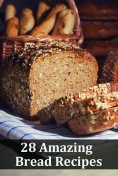 Breads - 25 amazing bread recipes