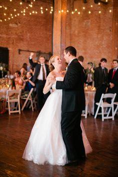 first dance under string lights   Jennefer Wilson #wedding