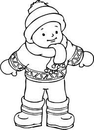 Winter coloring pages for preschool impressive coloring pages clothes kids clothes coloring pages winter coloring pages . winter coloring pages