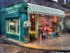 pictures+oof+flower+shops | flower shop 2 - HDR Photo | HDR Creme