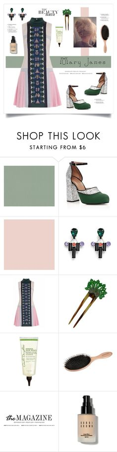 """Sweet Mary Jane"" by grrr8style ❤ liked on Polyvore featuring Marni, Joomi Lim, Mary Katrantzou, Coppola e Toppo, Carol's Daughter, JULIANNE and Bobbi Brown Cosmetics"