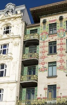 Chapter 20: Majolika Haus designed by Otto Wagner in Vienna, Austria. 1898.