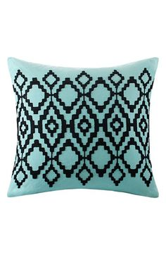 Echo 'Kalea' Geometric Embroidered Pillow available at #Nordstrom