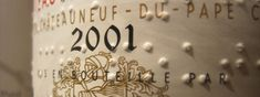 The Story Of How Braille Wound Up On Wine Labels | VinePair