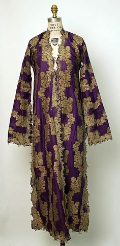 Turkish silk robe • late 19th Century