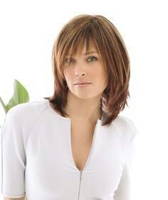 Medium Length Hairstyles With Bangs Extraordinary Medium Length Hairstyles With Bangs For Fine Hair  Beauty