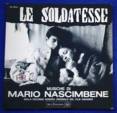 Mario Nascimbene - Le Soldatesse (Music From The Original Film Soundtrack) (Vinyl, LP) at Discogs