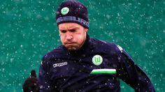 Nicklas Bendtner: Wolfsburg fine player oversleeping and coming late to training
