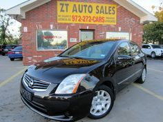 2010 Nissan Sentra Asking Price: $7,995 Black / Tan Miles:59,124 Front Wheel Drive 2.0L 140.0hp 4 Cylinders Automatic Transmission For More Information of this vehicle Visit our webpage http://www.usedcarsindfw.com/…/2010-Nissan-Sentra-4dr-Sdn-I… Give us a Call at 972)542-4880 Hablamos Espanol