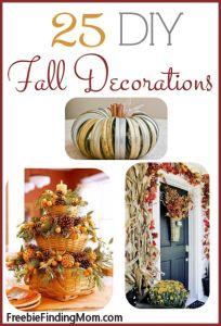 25 DIY Fall Decorations – Happy Fall!